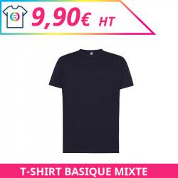 T-shirt mixte à personnaliser