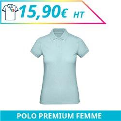 Polo premium femme