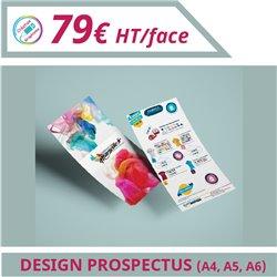Design de vos prospectus
