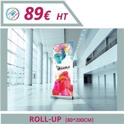 Design de votre rollup - Graphisme à personnaliser - Imprimeur Marseille Textile