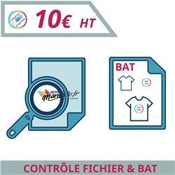 Contrôle de votre fichier avant impression - BAT - Graphisme à personnaliser - Imprimeur Marseille Textile