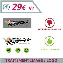 Traitement image ou logo pour votre personnalisation - Graphisme à personnaliser - Imprimeur Marseille Textile
