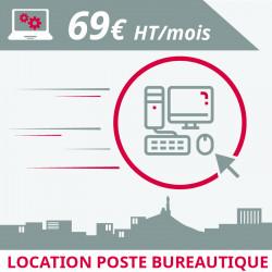 Informatique Marseille : location poste bureautique