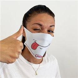 Masque de protection en tissu personnalisé
