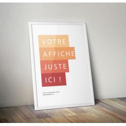 Design d'affiche