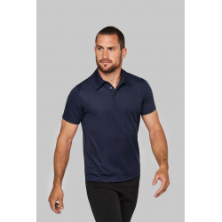 Polo manches courtes Maille interlock