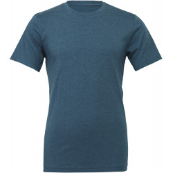 T-SHIRT HOMME COL ROND HEATHER