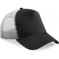 Casquette américaine Black / Light grey