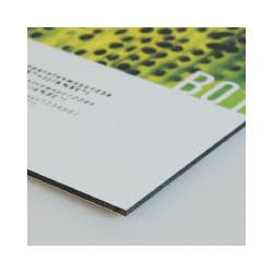 Panneau aluminium blanc 3mm 140 x 70cm