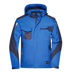 Craftsmen Softshell Jacket avec deux flocages