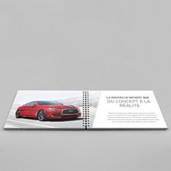 Catalogue Format A5  ( 14,8 x 21 cm )