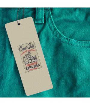Étiquette vêtement format 4...