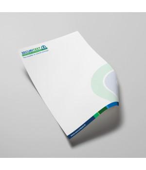 Papier en-tête Format A4 (...