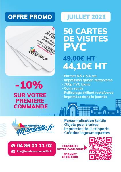 Vos cartes de visite en PVC à Marseille