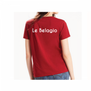 Impression textile sur t-shirt LE BELAGIO