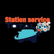 Création logo Station service TOTAL