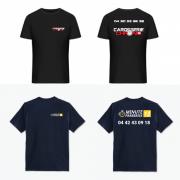 Création logo + vêtements de travail pour CARROSSERIE CHRONO 13